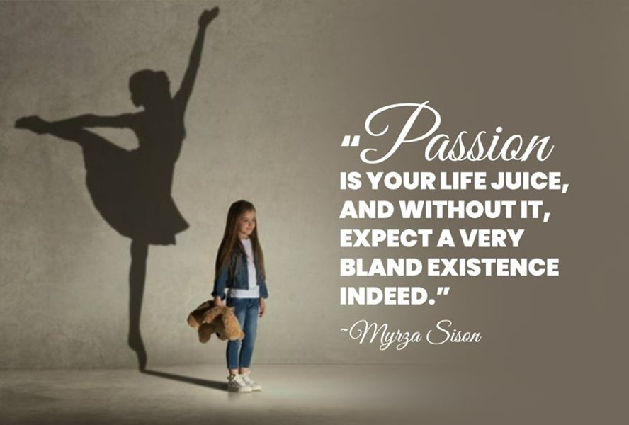 Why is passion important?