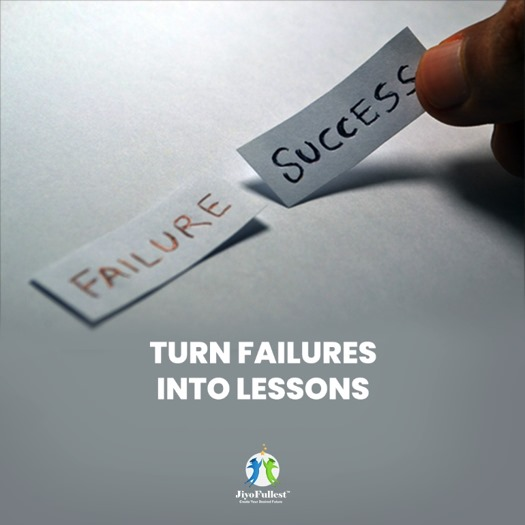 Turn failures into lessons