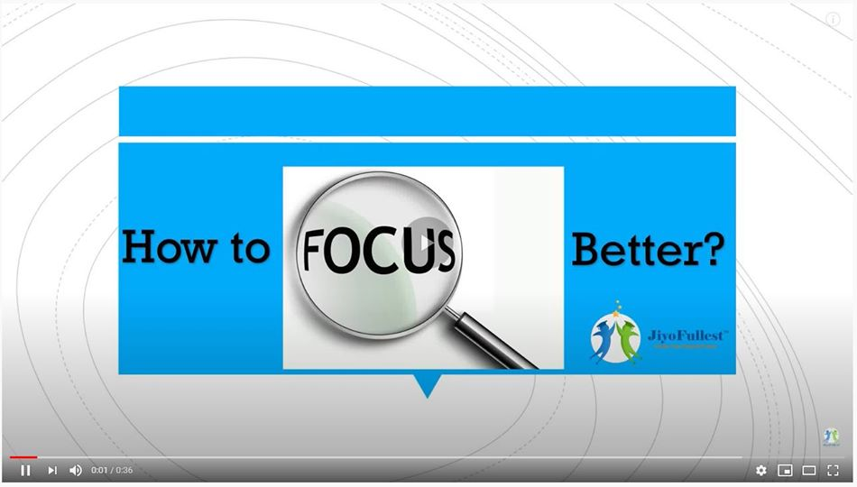 How To Increase Focus