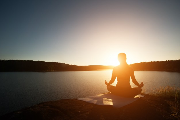 clear your mind and relax to reduce stress Mindfulness by yoga
